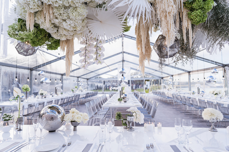 Nedlands Yacht Club White Elegant Marquee Wedding captured by Melissa's Photography